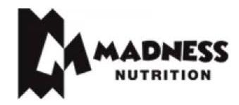 Madness Nutrition Logo