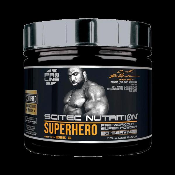 Scitech Nutrition Supherhero Pre Workout