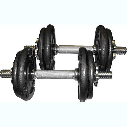Bodyworx 20kg Dumbell kit