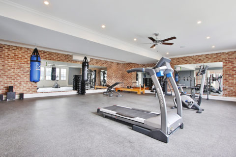 Hoem Gym Fitout by The Fitness Shop