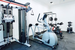 A beautiful home gym fitout in Toorak, Victoria Australia