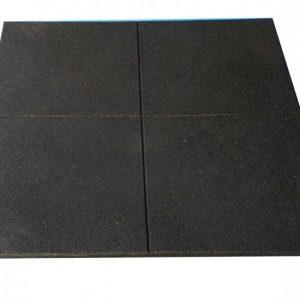 Rubber flooring gym tiles