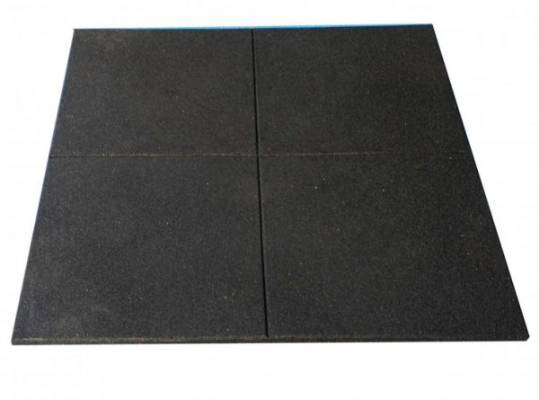 Rubber flooring gym tiles