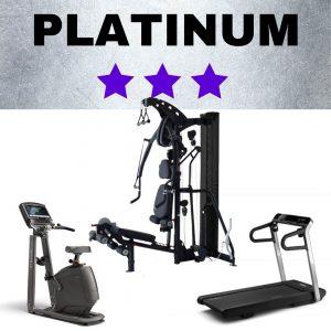 Platinum 3 star home fitness studio package