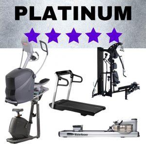 Platinum 5 star home fitness studio package