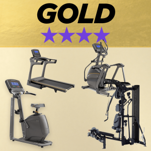 Home fitness studio gold 4 star package deal