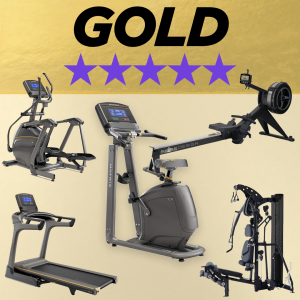 Home fitness studio gold 5 star package