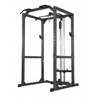 Bodyworx LU475PC Half Cage With Lat Pulldown Low Row Attachment