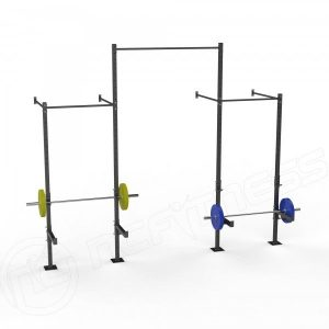 Wall Mounted Double Cell Rack With Centre Rise