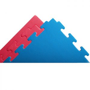 blue & red jbigsaw gym mats