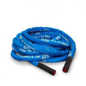 BATTLE ROPE BLUE 1.5 INCH X 15M NYLON CASING