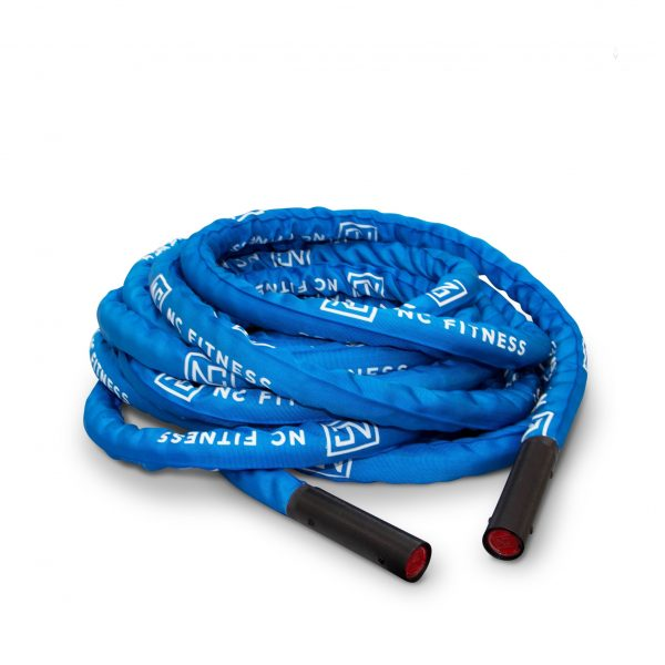 BATTLE ROPE BLUE 1.5 INCH X 15M NYLON CASING