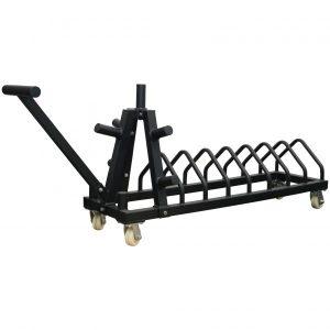 Bumper plate toaster rack v2