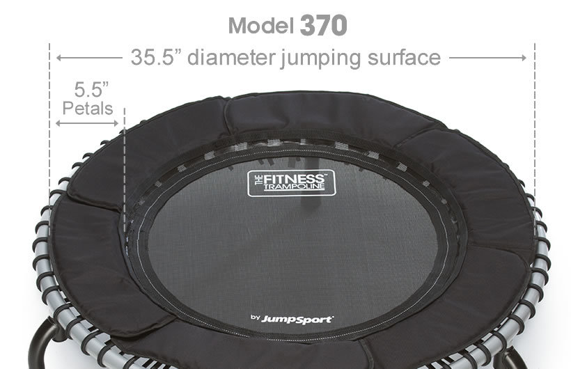 JUMPSPORT 370 FITNESS TRAMPOLINE