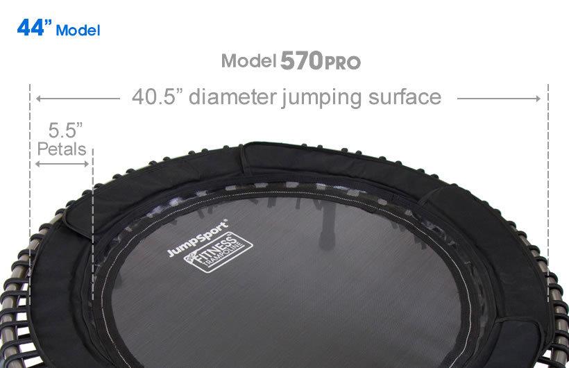 JUMPSPORT 570 PRO FITNESS TRAMPOLINE