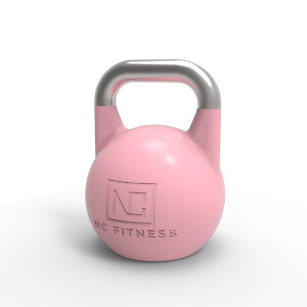 pink pro grade kettlebell