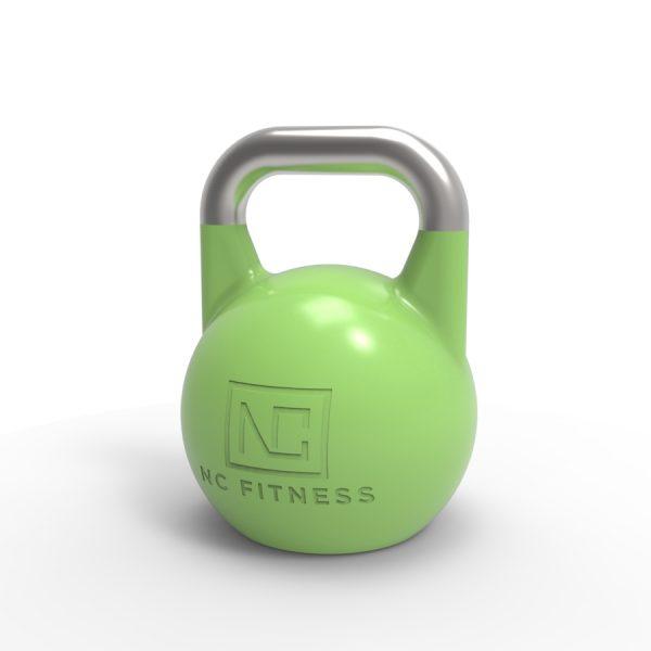 green pro grade kettlebell