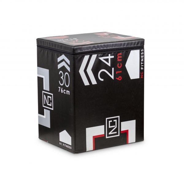 PLYO BOX FOAM 3 IN 1 BLACK