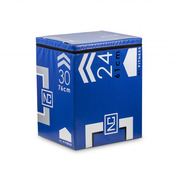 PLYO BOX FOAM 3 IN 1 IN BLUE
