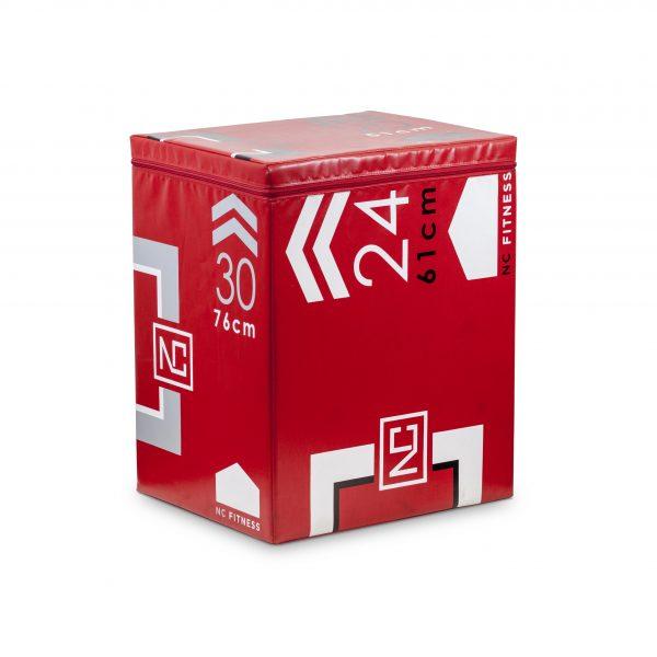 PLYO BOX FOAM 3 IN 1 IN RED