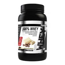 100% WHEY BY GIANT SPORTS EXPRESSO WHITE CHOCOLATE 2LB