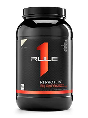 R1 PROTEIN WPI BY RULE 1 PROTEIN VANILLA CREME 2.4LBS