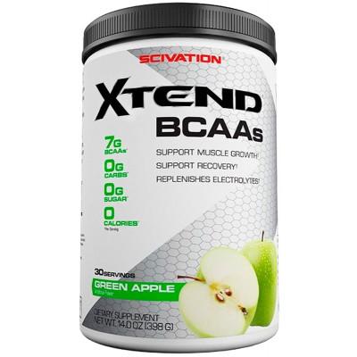 XTEND BCAA's GREEN APPLE 30 serves