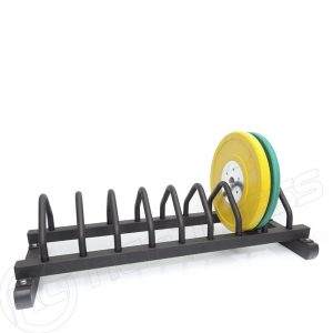 Bumper plate toaster rack