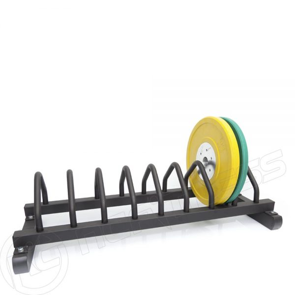 Bumper plate toaster rack