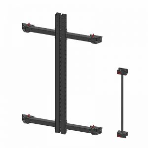 PIVOT Fitness Foldable Squat Rack