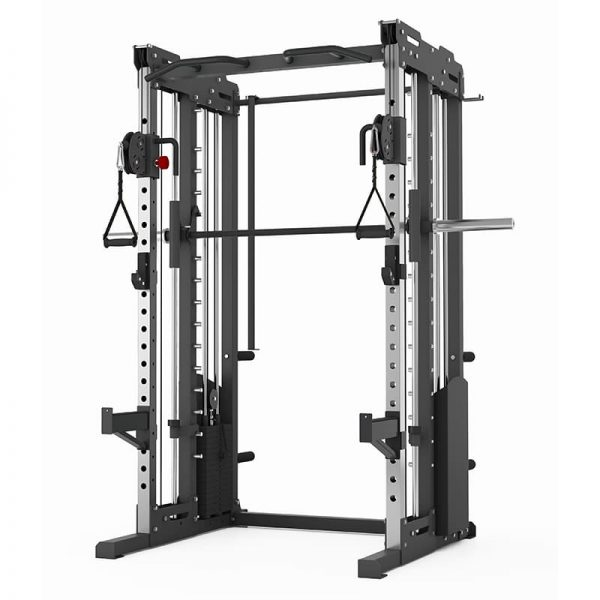 PIVOT Fitness Evolution H Series Cable Smith Rack 2