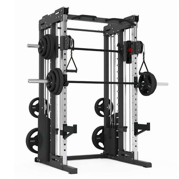 PIVOT Fitness Evolution H Series Cable Smith Rack