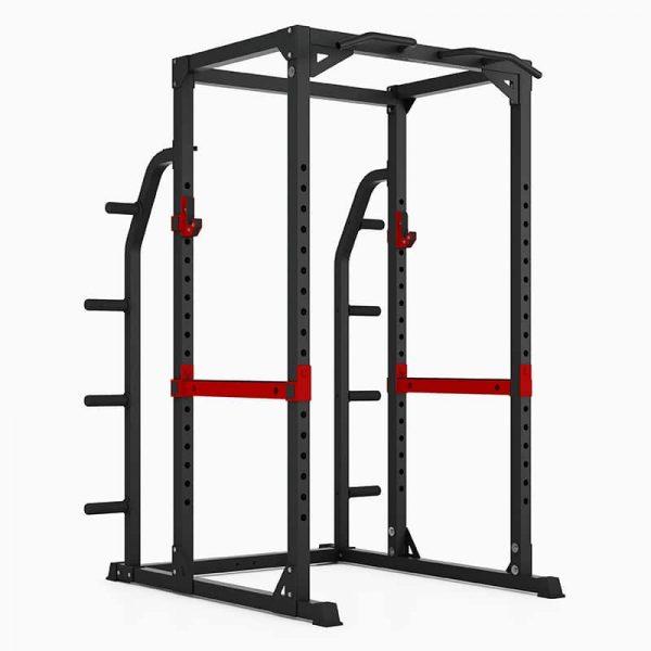 PIVOT Fitness Evolution H Series HD Power Rack W:Storage 2