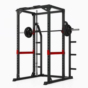 PIVOT Fitness Evolution H Series HD Power Rack W:Storage