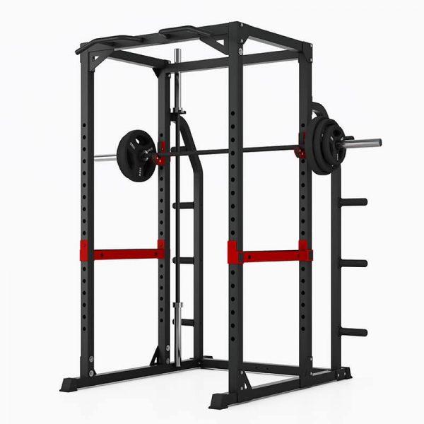 PIVOT Fitness Evolution H Series HD Power Rack W:Storage