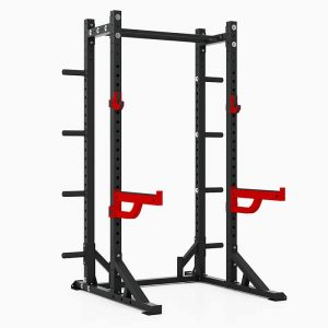 PIVOT Fitness Evolution Series Athletic Half Rack 2