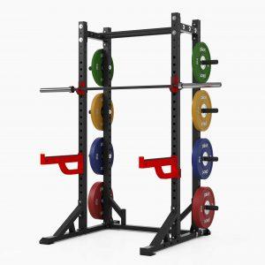 PIVOT Fitness Evolution Series Athletic Half Rack