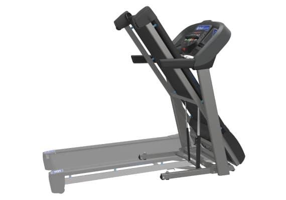 Horizon T101 Treadmill Folding