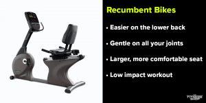Benefits of recumbent bikes