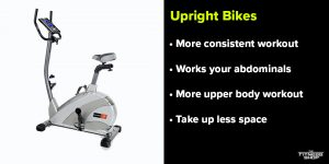 Benefits of upright bikes