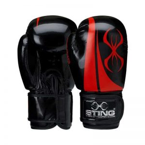 Black & red Armalite boxing gloves
