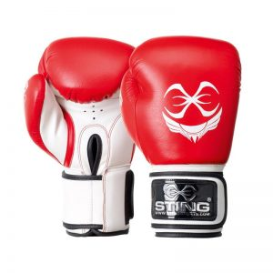 Titan leather boxing gloves by Sting