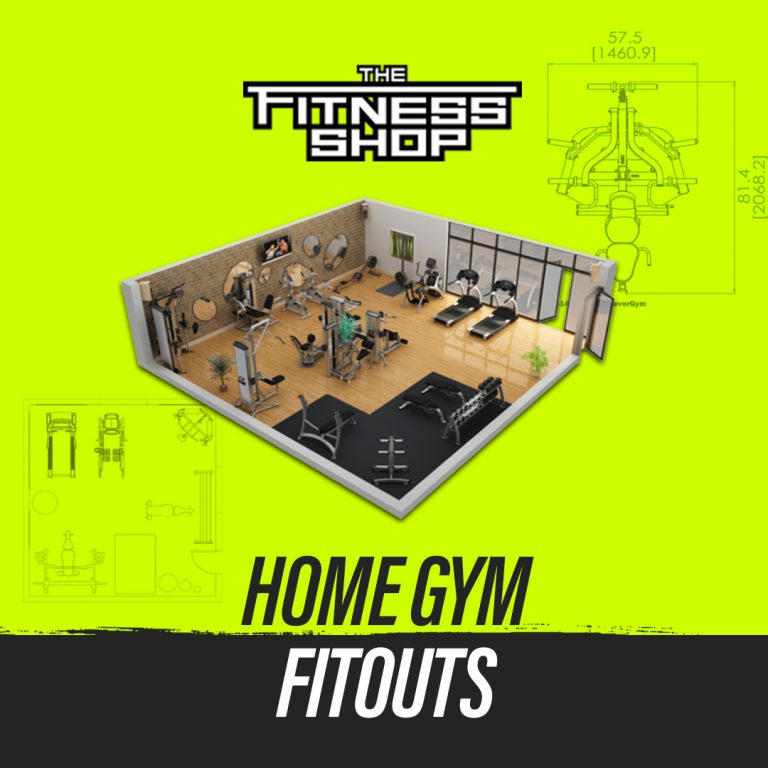 Home gym fitout by The Fitness Shop, Australia