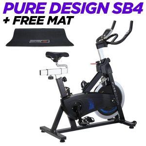 Pure Design SB4 and Free Bodyworx Bike Mat