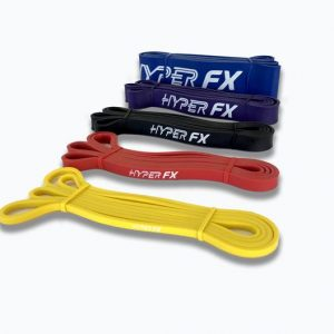 HyperFX Resistance Band Set - 5 Bands