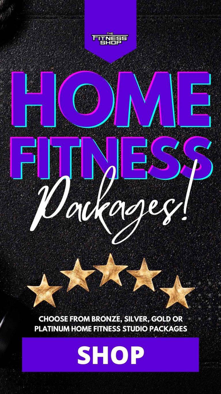 Home fitness studio banner